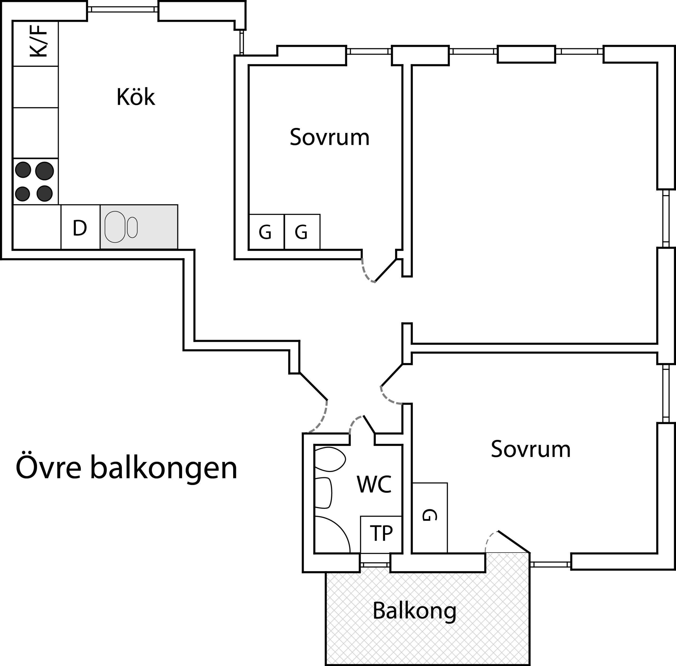 Lägenhetsskiss