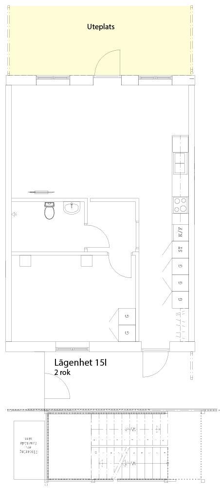 Lägenhetsskiss 15I