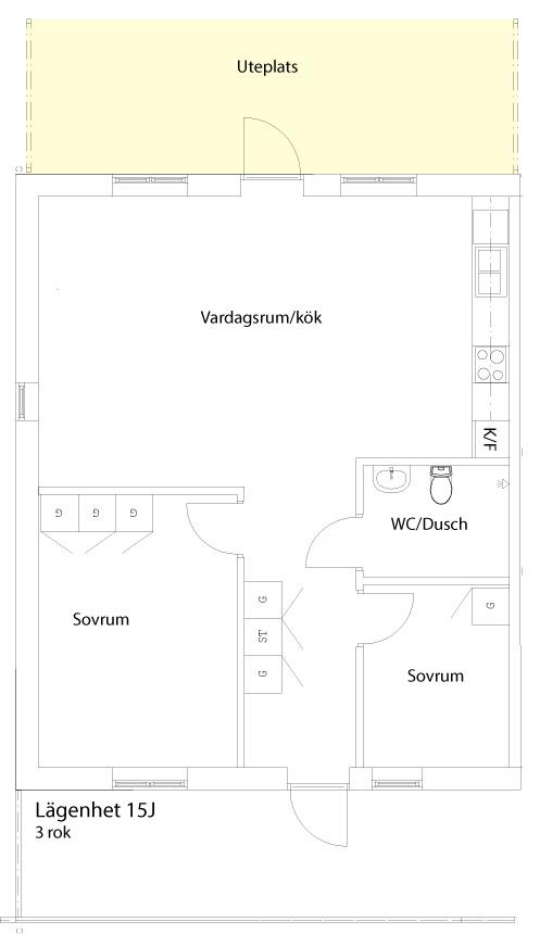 Lägenhet-15J